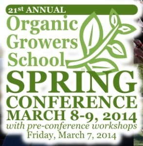 Cover photo for 21st Annual Organic Growers School Spring Conference