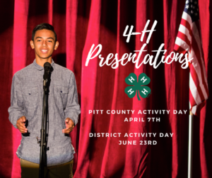Cover photo for 4-H Presentations