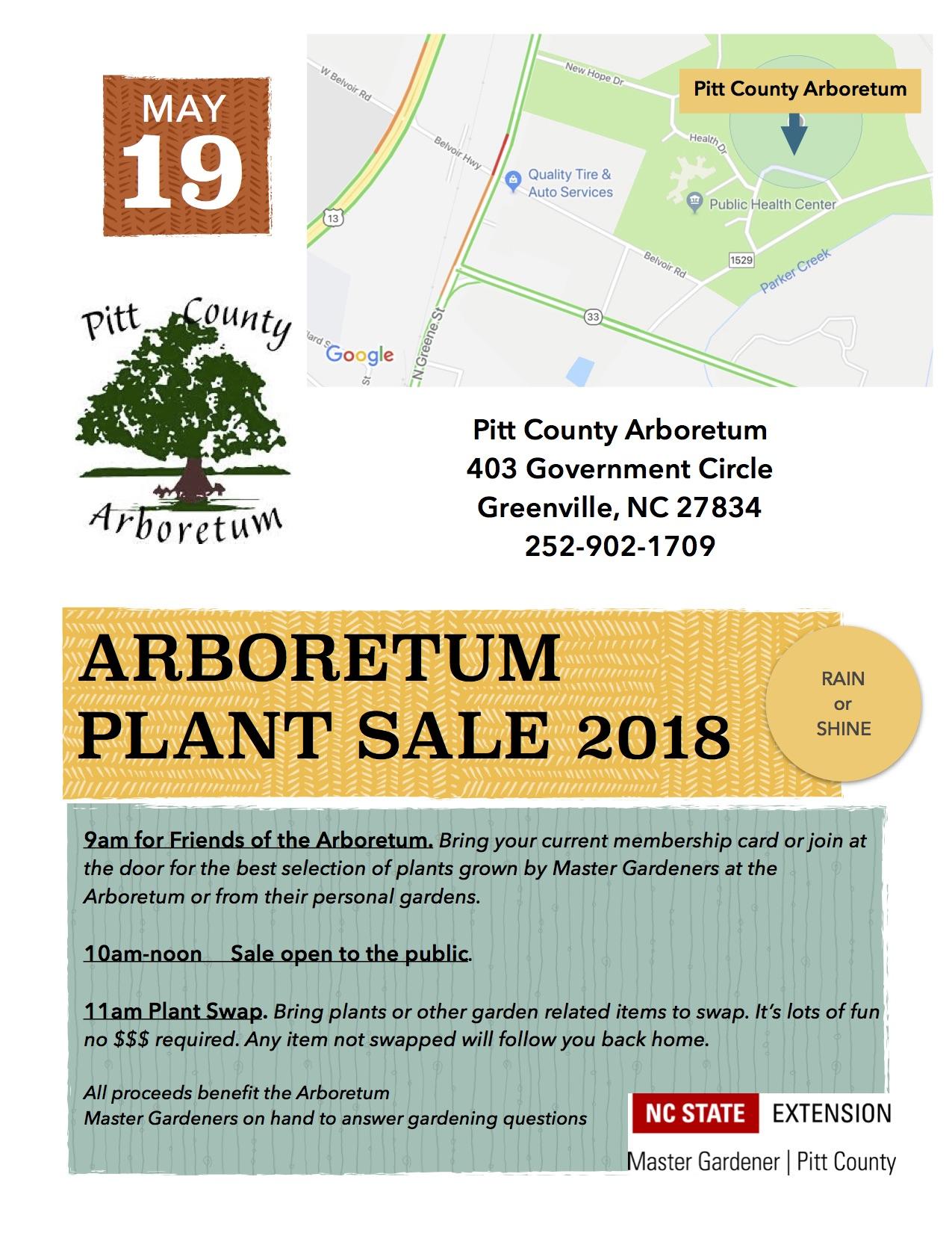 Pitt Plant Sale flyer image