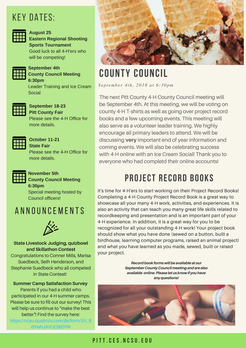 Fall 2018 Newsletter page 3