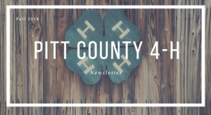 Cover photo for 4-H Newsletter: Fall 2018