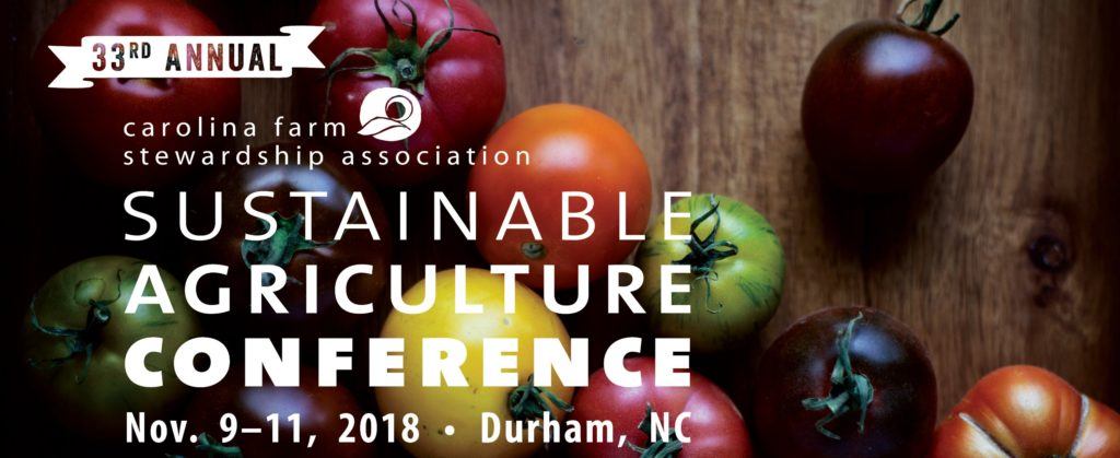 Sustainable Ag Conference flyer image