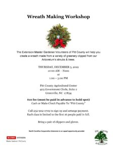 Cover photo for Wreath Making Workshop