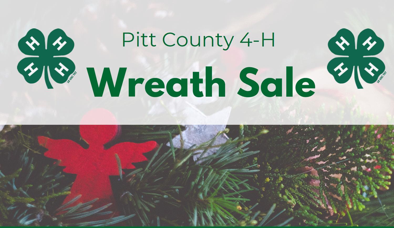 Wreath sale flyer image