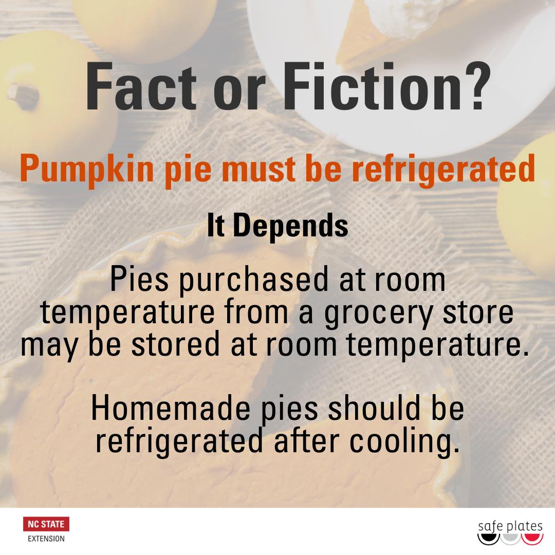 Pumpkin pie flyer image