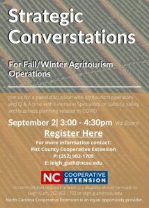 Cover photo for Strategic Conversations for Fall / Winter Agritourism Operations