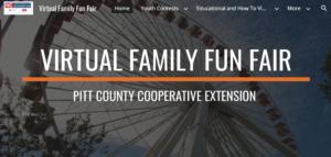 Cover photo for Virtual Family Fun Fair