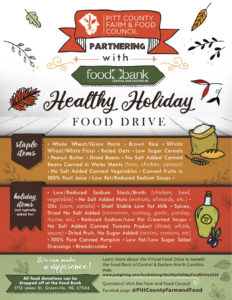 Cover photo for Healthy Holiday Food Drive