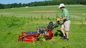 Cover photo for Grady Miller: Helping Turfgrass Managers on the Route to Field Recovery