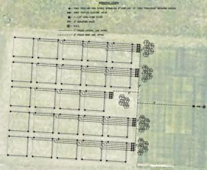 irrigation layout