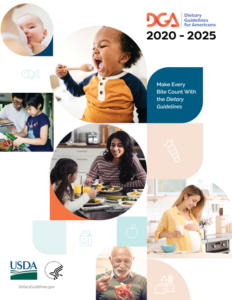 Cover photo for 2020-2025 Dietary Guidelines Edition is Here! Make Every Bite Count!