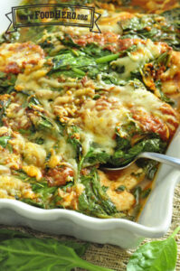 Cover photo for Holiday Meal on a Budget: Italian Spinach and Chicken Recipe