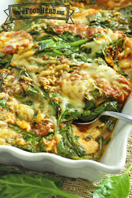 Italian Spinach and Chicken