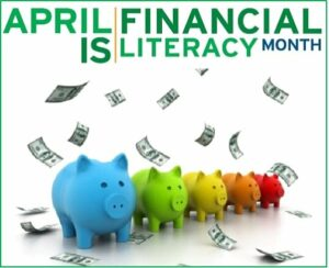 Cover photo for April Is National Financial Literacy Month